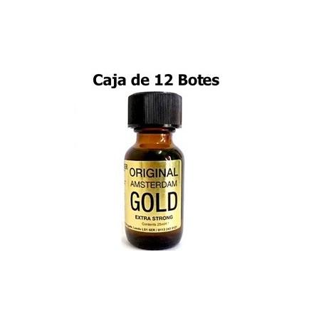 Caja 12 Popper Original Amsterdam Gold XL