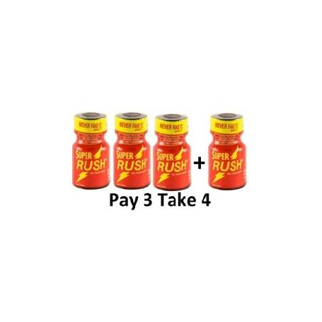 Pack Popper Super Red Rush 3+1