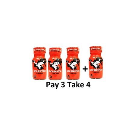 Small - Pack Popper Jolt Dominator-Red 3+1