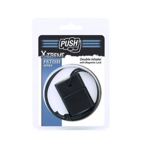 Inhalador Doble - Magnetic Lock - Black