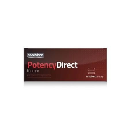 CoolMann Potency Direct 16 Caps